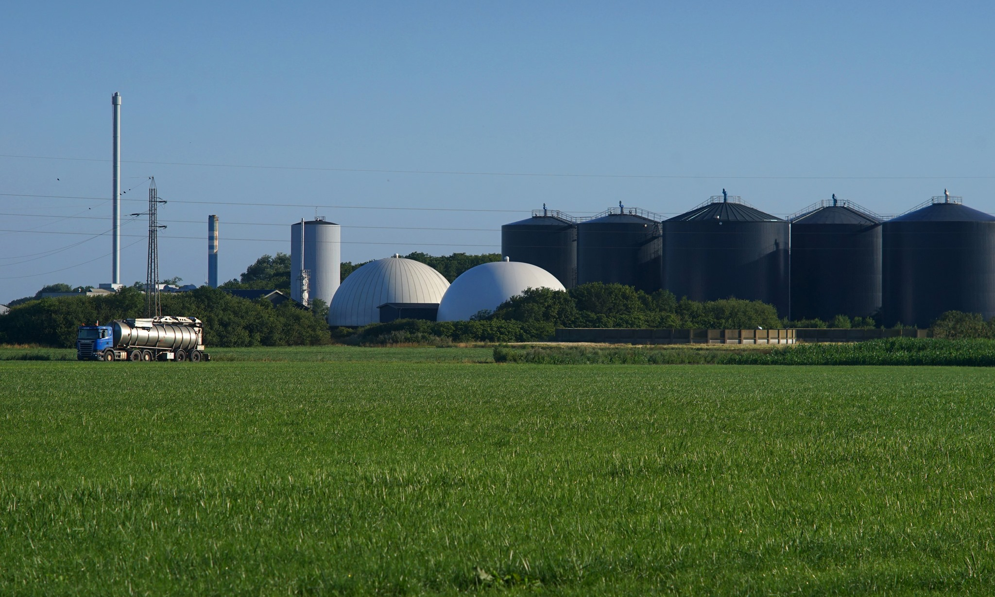 Dansk produktion af biogas